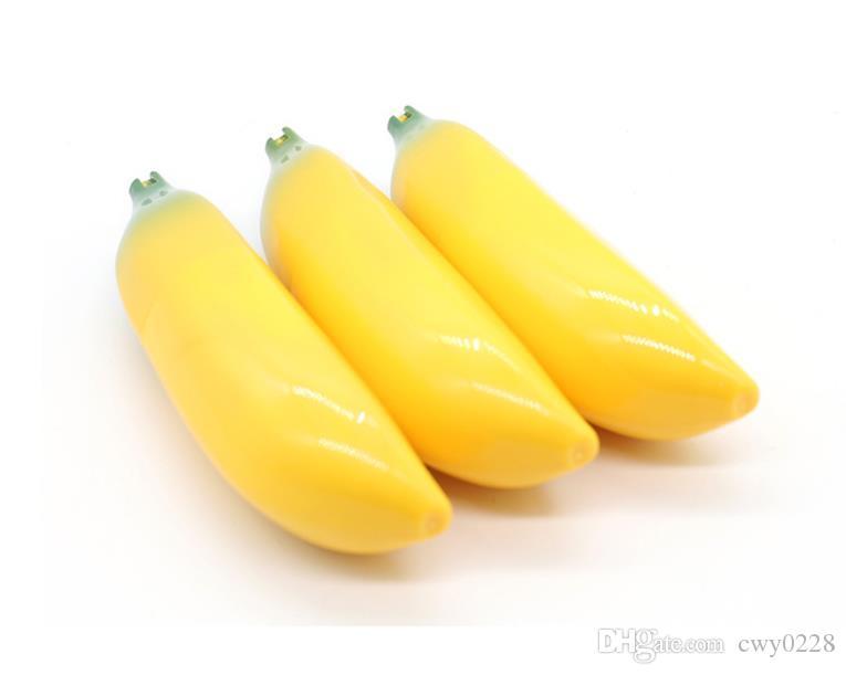 2018 nuovo tubo di metallo a forma di banana Creativo portatile in alluminio mini accessori per il fumo all'ingrosso