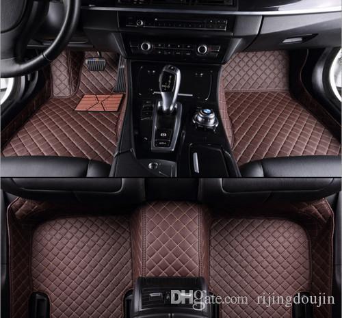 Fit tapis de sol voiture sur mesure pour Mercedes Benz W204 W205 C180 C200 C300 C350 5SEATS