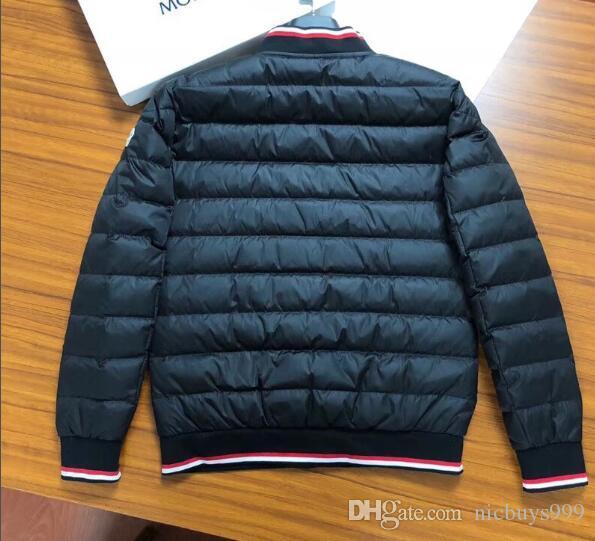 Großhandel 2019 Heißer Verkauf Mens Daunenjacke Lose Daunenjacke Kalten Winter Warme Outdoor Kleidung Dicke Reißverschluss Ärmel Zusammenarbeit