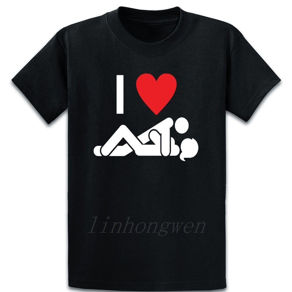 I Heart Sex-T-Shirt Kawaii Entwurf neue Art und Weise kurze Hülsen-Sommer-Art-runde Kragen-Grafik-Kleidung Hemd