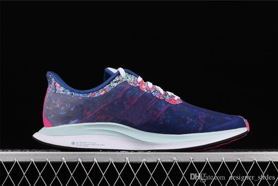 2019 marque diapositives de créateurs de luxe de la mode hommes femmes chaussures pour hommes Zoom Pegasus 35 Turbo 2.0 Zapatos nouvelle arrivée blanc chaussure Casual mocassin