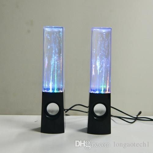 Best Seller Fashion laptop Water Dancing Speakers Light Show Water Fountain Speakers LED Music Fountain Dancing 3W*2