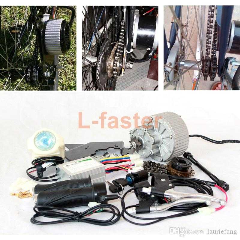 24V 250W ELECTRIC BICYCLE CONVERSION KIT ELECTRIC SCOOTER BIKE GNGEBIKE KIT ELECTRIC MOTOR MY1018 ( SIDE-MOUNTED )