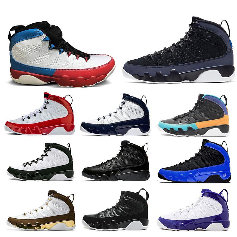 Mens Basketball Shoes Black Blue UNC