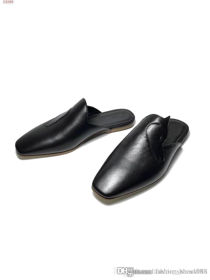الأكثر مبيعا الرجال الإيطالي النعال باطن الجلود الجديدة الخريف والشتاء عارضة الأحذية بطانة جلد الغنم مريحة للتنفس جولة رئيس زلق