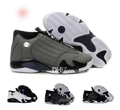 Populaire 14 Beige Jaune Noir Luxe Designer de chaussures de basket-ball Hommes Gris Rouge Violet 14s bon marché New Sports Chaussures à vendre avec la boîte