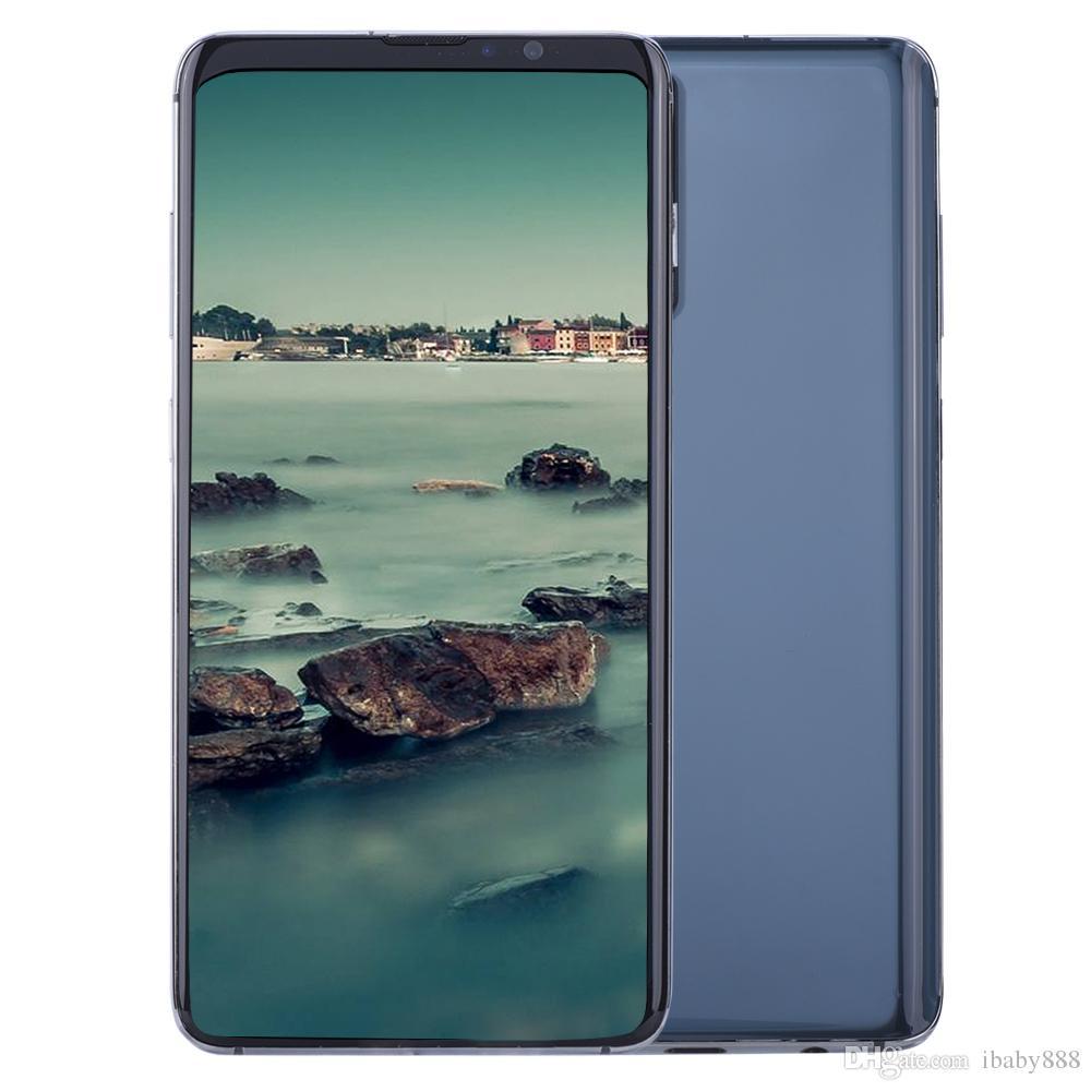 6.4 인치 HD + Goophone PS20 플러스 GPS20 + 20Plus 세대 V2 3G WCDMA 쿼드 코어 MTK6580 1기가바이트 4기가바이트 안드로이드 (10) 얼굴 ID 지문 4 카메라 스마트 폰