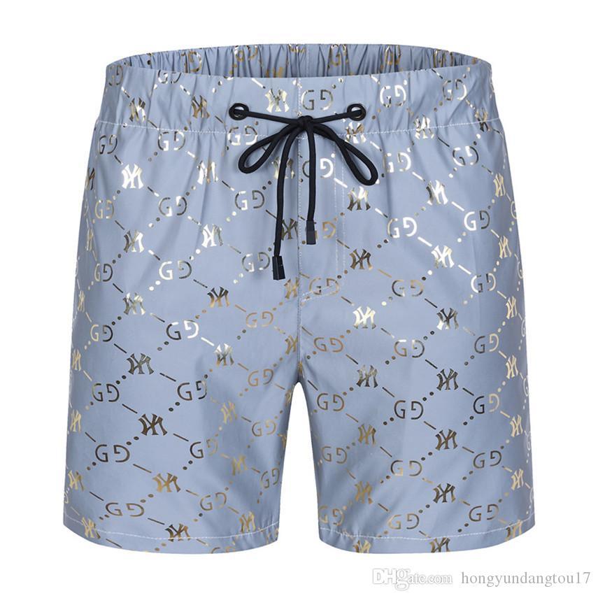New Board Shorts Mens Praia Verão g Shorts Calças de alta qualidade Swimwear Bermuda Masculino Carta Surf Life Men Swim Tiger Shorts grife g5016