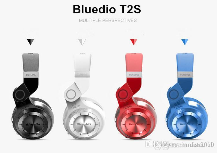 아이폰 삼성 샤오 미 HTC에 대한 Bluedio T2S 기존 블루투스 헤드폰 마이크 스테레오 무선 헤드셋 블루투스 4.1