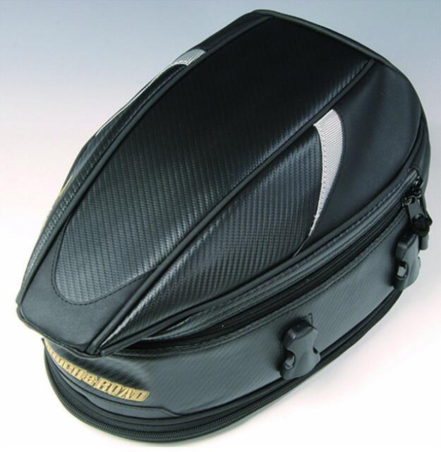 2020 nouvelle, RR9014, sac de sport pour le siège arrière de la moto, des sacs arrière de voiture, l'expédition 18,5 litres