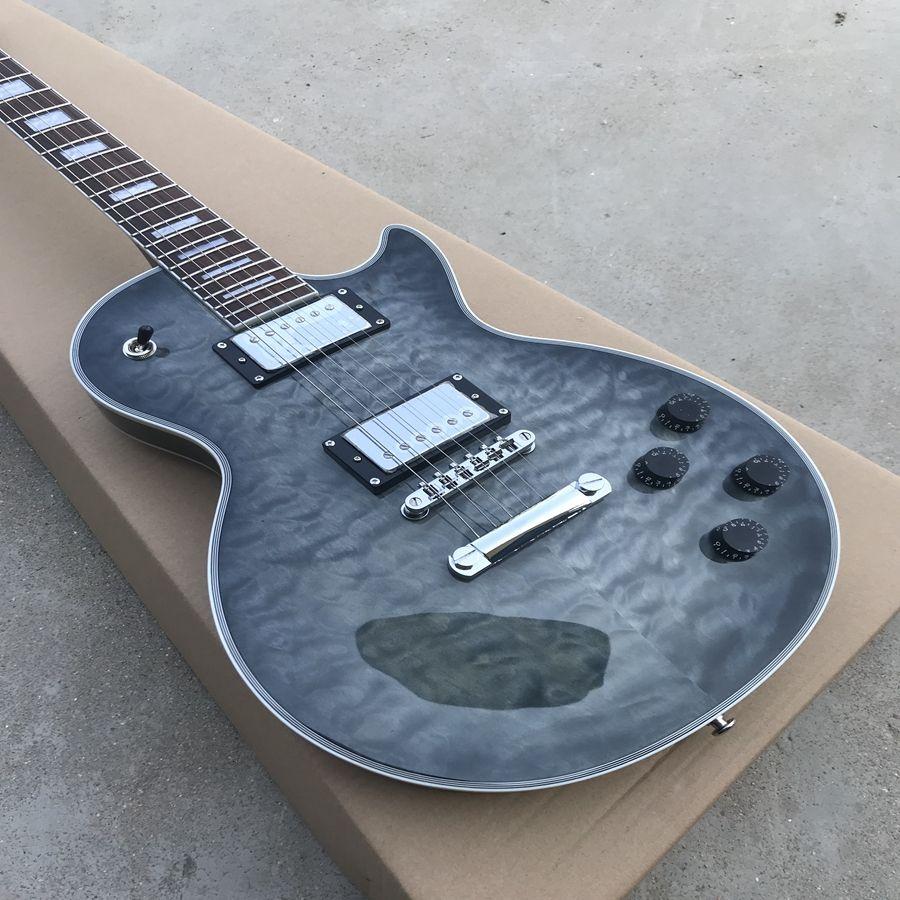 новый черный взрыв цвет custom shop электрогитара с хромированным оборудованием, высокое качество горячей продажи китайской гитары