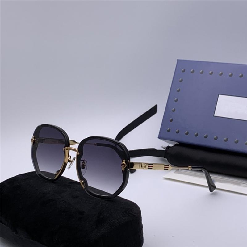 les femmes de créateurs de luxe Loisirs Meilleur plus populaires de qualité Hommes Vintage Fashion Brand Design Lunettes de soleil 0427