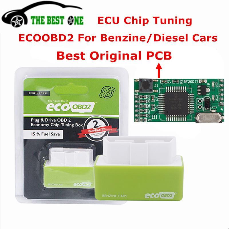 Compre Original Completa Chip Saving 15% De Combustível ECOOBD2 NitroOBD2  Tuning Chip Box ECO OBD2 Nitro OBD2 Para Diesel Ine Motor PlugDrive De