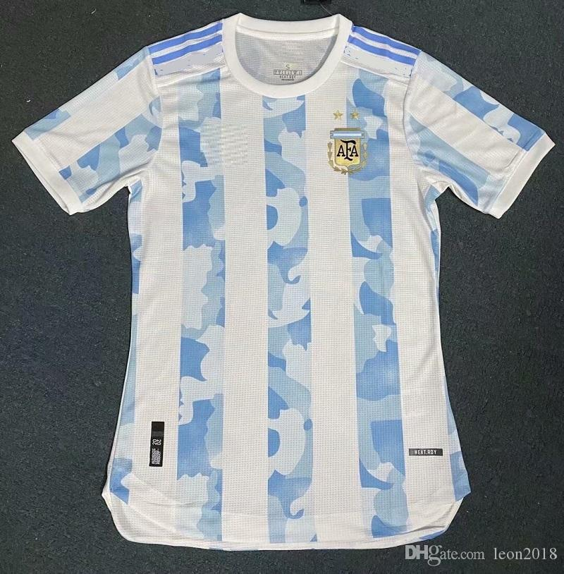 2020 Copa America 2020 Argentina Soccer Jerseys 2021 Player Version Home Away Messi Higuain Away Icardi Kun Aguero Football Jersey Shirts From Leon2018 11 79 Dhgate Com