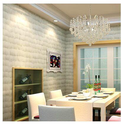 Großhandel 3D Feder Bekleidungsgeschäft Tapete Grau Weiße Vliesstoffe  Moderne Einfache Wohnzimmer Shop Dekoration Hintergrundbild Von Hilery,  $24.0 ...