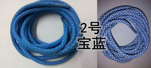 Moda colorida Shoe Rodada Laces 3M reflexiva cadarço poliéster Cordão 130 centímetros longa corda Laces Esporte Shoelaces