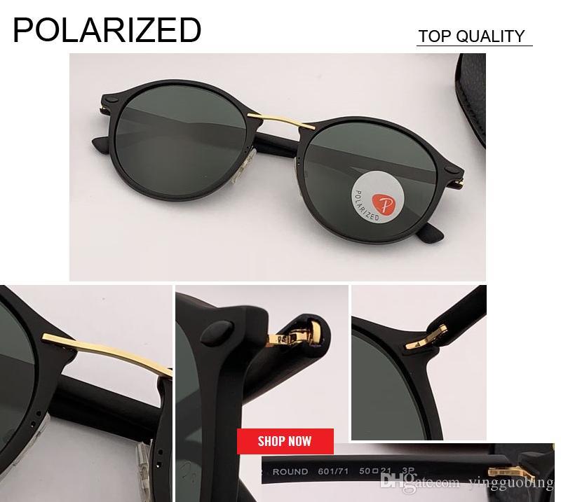 2019 جديد أعلى جودة مصمم أزياء الرجال القيادة الاستقطاب النساء التدرج المتطابقة خفيفة الوزن uv حماية نظارات الشمس rd4242