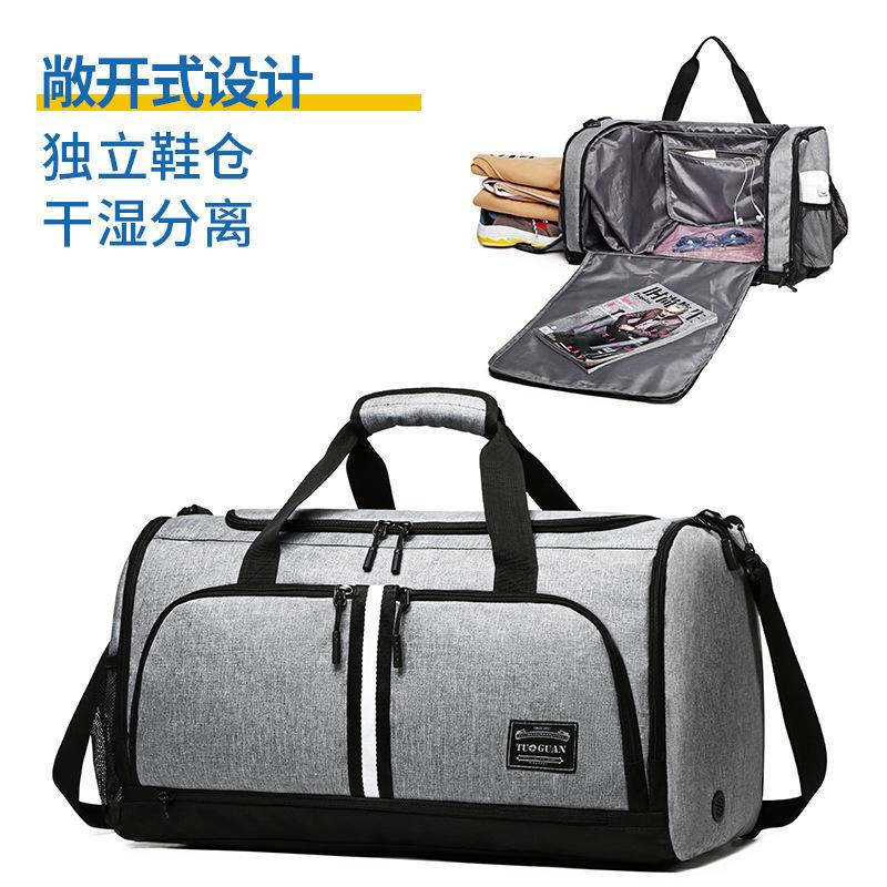 Oversea2019 And Dry Crown. Wet Separation Bodybuilding Travel Bag Foldable A Short Trip Package Portable Will Capacity