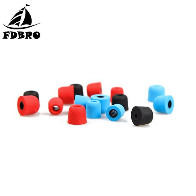 ortable Audio & Video Earphone Accessories FDBRO T400 Noise Isolating Memory Foam Earphone Tips Sponge Ear Pads Eartips For In Ear Ea...