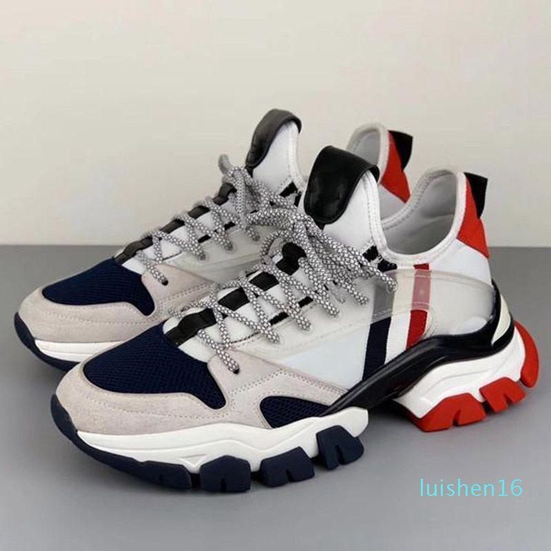 2020 nouvelles chaussures de marque chaud hommes luxe chaussures 3M hommes TREVOR réfléchissant chaussures casual chaussures de sport de la plate-forme de marque de haute qualité L16