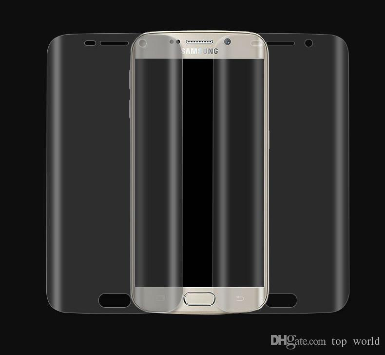 삼성 갤럭시 주 9 S9 플러스 S8 플러스 미니 Note8 S7 S6edge 전체 커버 화면 보호기 소프트 필름 3D 투명 소프트 PET 필름