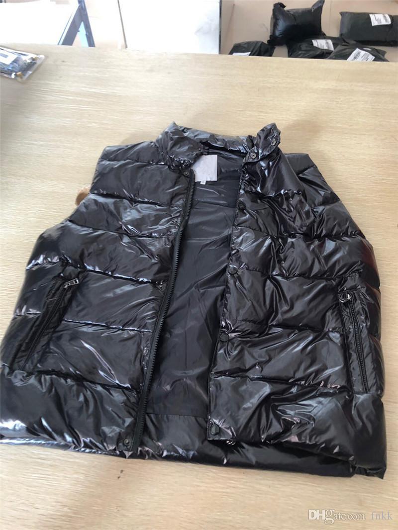 Jacket Vest Mens cappotto della chiusura lampo riflettenti casuale Trench con cappuccio Uomini Donne Windbreaker Jacket Coat Moda Vest Tops