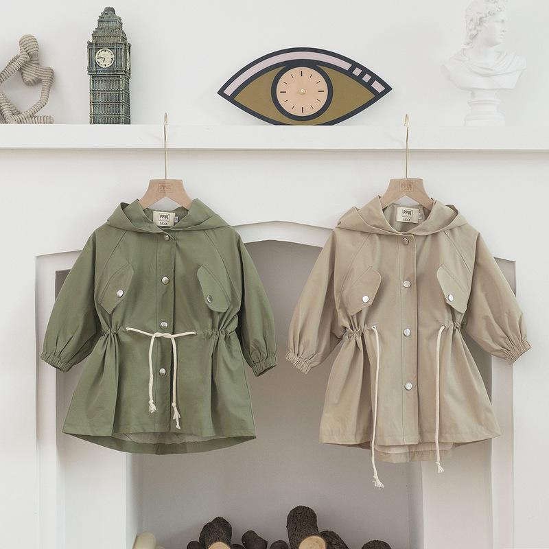 primavera giacca a vento ragazzo e una ragazza giacca con cappuccio 2020 bambini