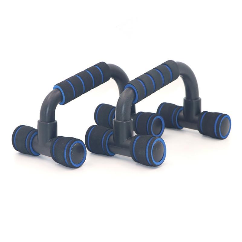 Dayanıklı H tipi Çerçeve Parantez Push-Up With Foam Grip Kol Fonksiyonlu Spor Kas Eğitimi Rack duruyor