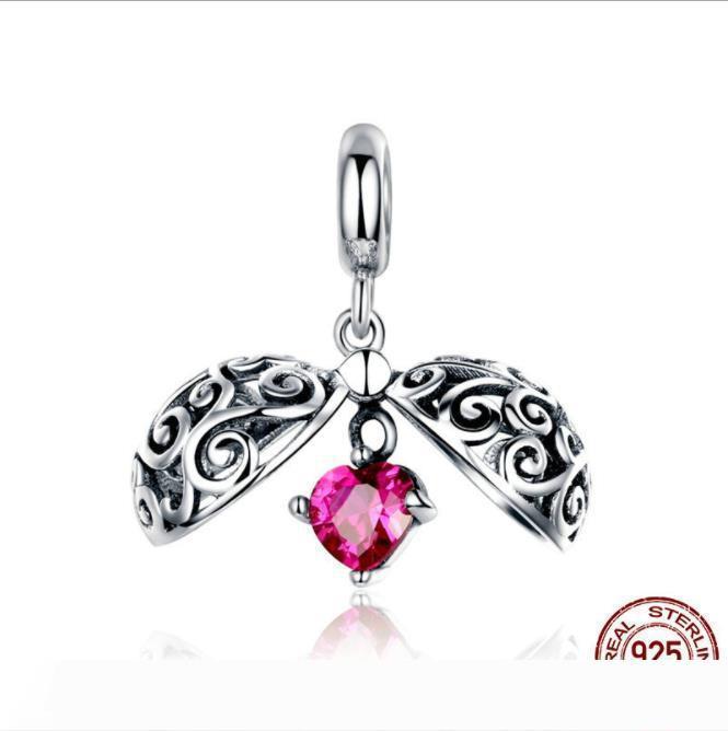 S925 серебряное ожерелье способа кристаллическое ожерелье смазливая фрукты ключицы цепи ожерелье ювелирные изделия подарок для женщин девочек