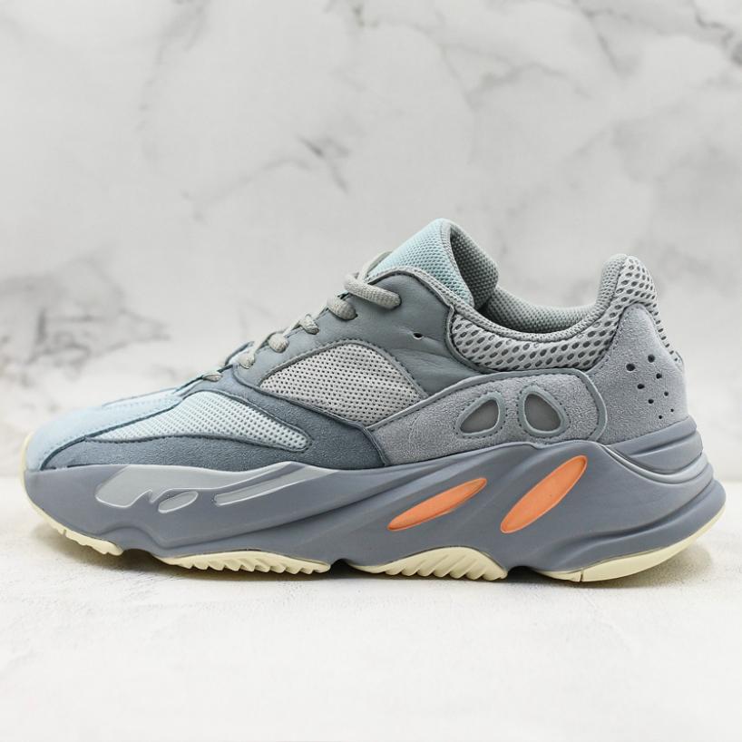Tasarımcı 700 Dalga Runner İçin Erkekler Kadın Ayakkabı INERTIA Leylak Çok Katı Gri TUZ Statik 3M Yansıtıcı Erkek Günlük Spor Sneakers 37 Running