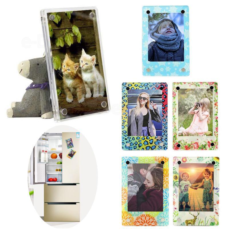10PCS Colorful Magnetic Photo Frame Fujifilm Instax Mini Film Mini 9 8 7s 70 90