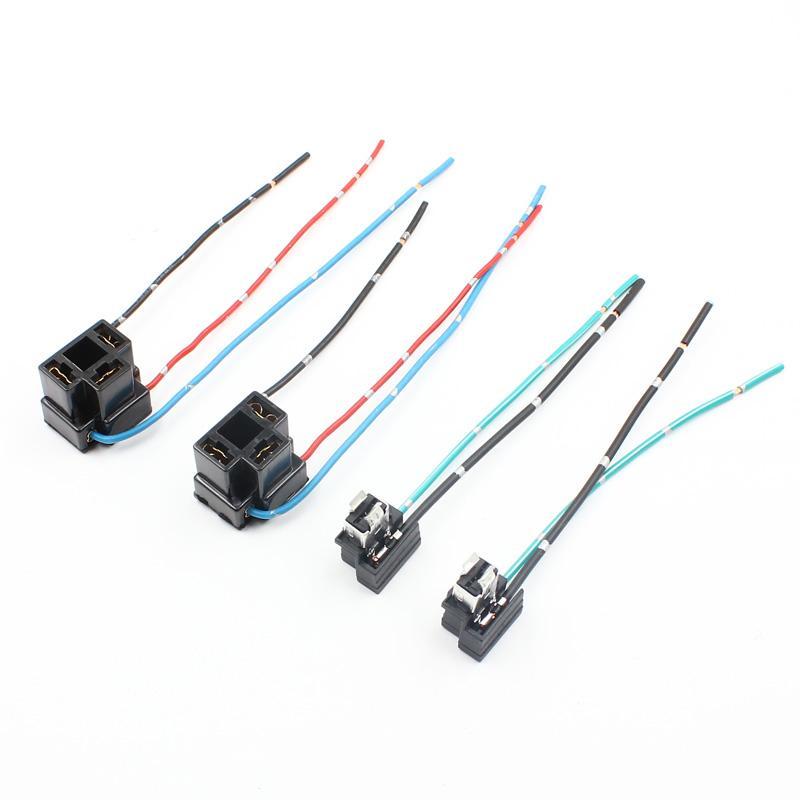 H1 Lámpara Bombilla Luz Antiniebla cabeza socket titular Cableado Conector Plug Para Auto Coche