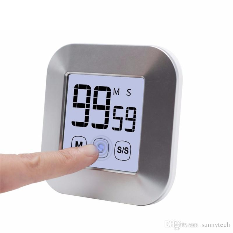 Acheter Ecran Tactile Lcd Minuteur De Cuisine Numerique Minuteur