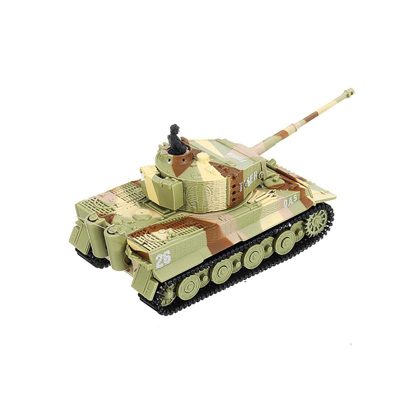 Great Wall Toys 2117 RC Car 1:72 Radio Control Car 14CH Electric RC Tank Battle with Light Sound RTR Model Toys for Children