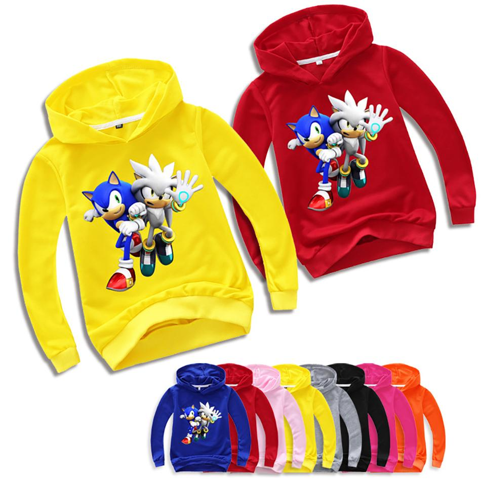 2020 29 Styles Movie Sonic The Hedgehog 3d Hoodies Boys Girls Long Sleeve Cartoon Funny Coat Graphic Tees Kids Clothes Children Clothing From Dwtrade 12 02 Dhgate Com