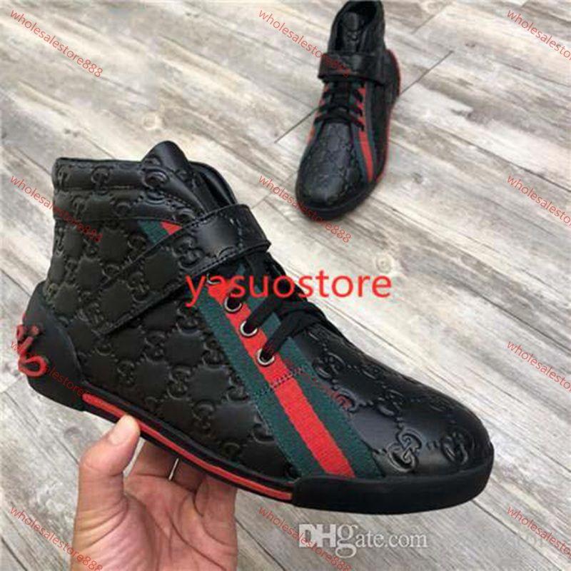 Gucci Tasche2020 heiße Verkaufs-Männer Wome Luxuriöse Marke Red Bottom Herren Designer xshfbcl Turnschuhe G Low-beiläufige flache Außen Zapatillas Driving Schuhe Mann