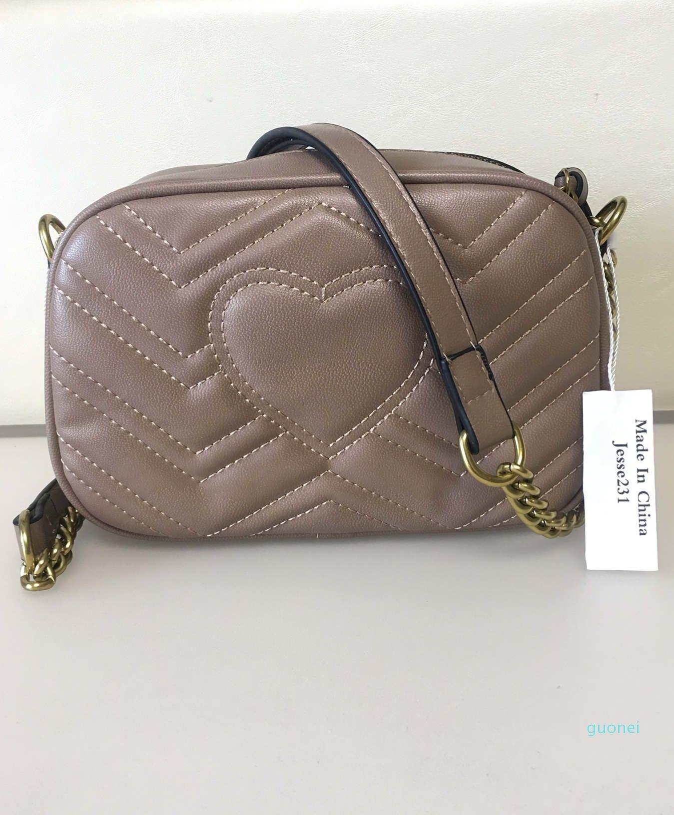 Btrand New Luxury donne del progettista Borse Famoso Oro Borse catena della spalla Crossbody Bag Soho Disco Borsa a tracolla della borsa Portafoglio 5 colori
