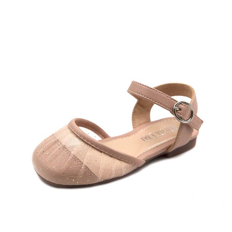 2020 nouvelles chaussures filles Glisten été tout-petits chaussures chaussures de bébé princesse filles sandales sandales tout-petits sandales bébé fille tout-petits chaussures B782