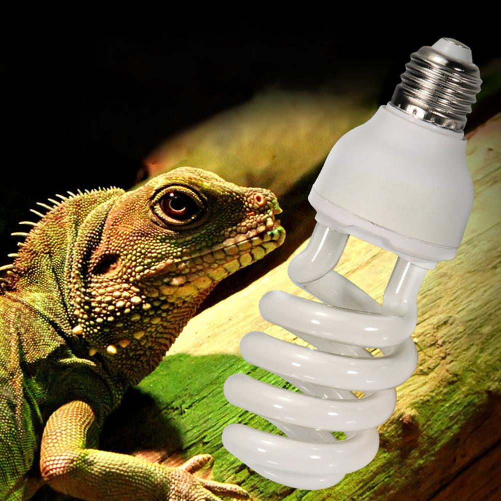 220v-240v Reptile Light Bulb 5.0 10.0 UVB 13W Reptile Light Bulb UV Lamp Vivarium Terrarium Snake Pet Heating