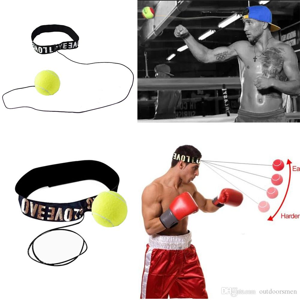 Top qualité Bande de combat pour le casque de boxe Head Band pour la vitesse de réflexe Boxe Punch Muay Thai Exercice livraison gratuite nouveau