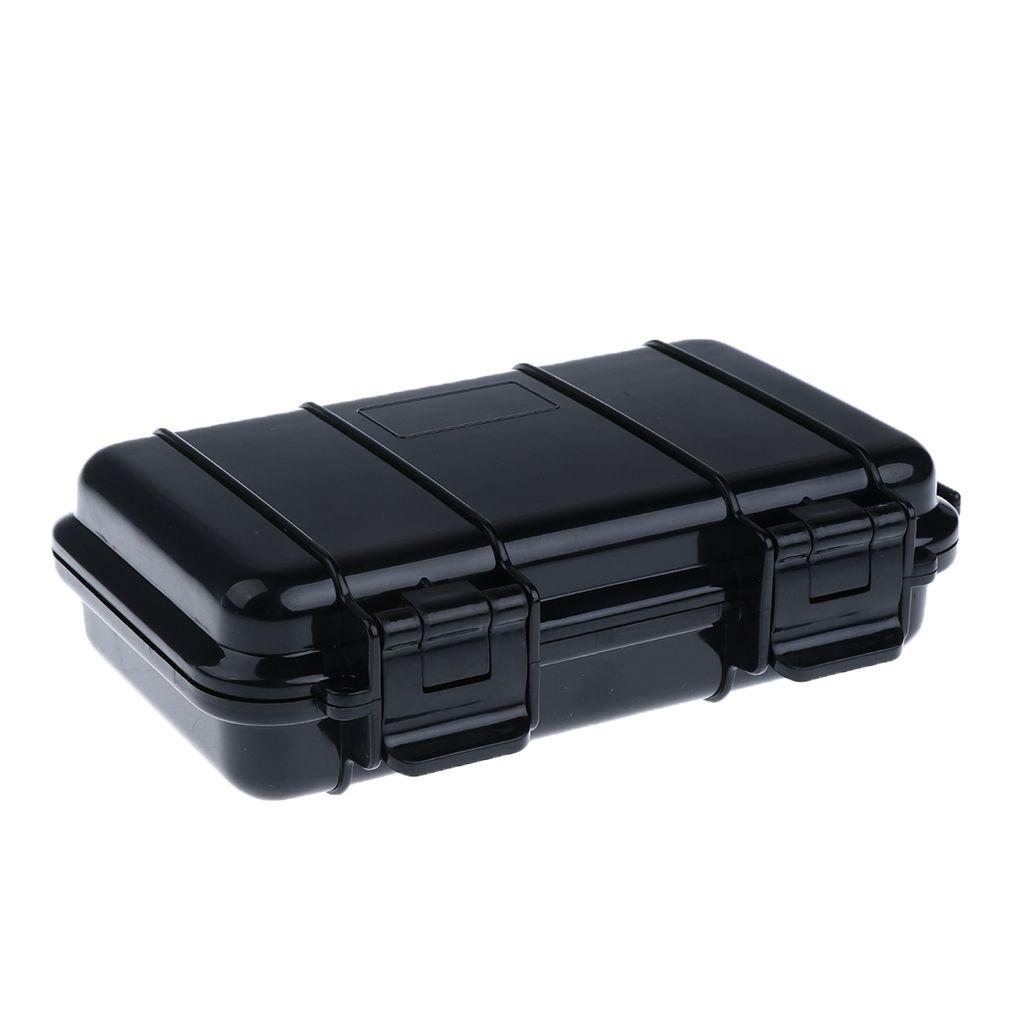 Instrumentos lleva la caja de almacenamiento al aire libre a prueba de golpes impermeable hermético envase de la caja de supervivencia que acampan Herramientas