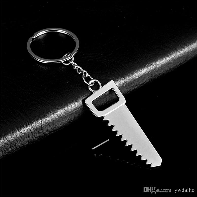 DAIHE explosion models simulation tool key chain metal creative wrench screwdriver hammer key chain car small gift pendant