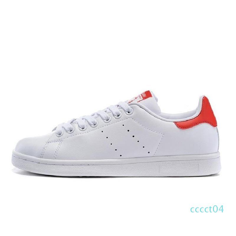 sapatos de grife Chaussures smith stan para Mens apartamentos sapatos vermelhos de prata azul triplos mulheres pretas brancas tamanho da sapatilha Casual Outdoor 36-44 CT04