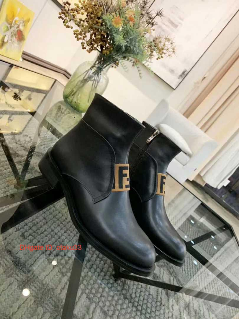 Woman S Leather Shoes Lace Up Ribbon Belt Buckle Ankle Boots Direct Female Rough Heel Round Head Autumn Winter Martin Boots