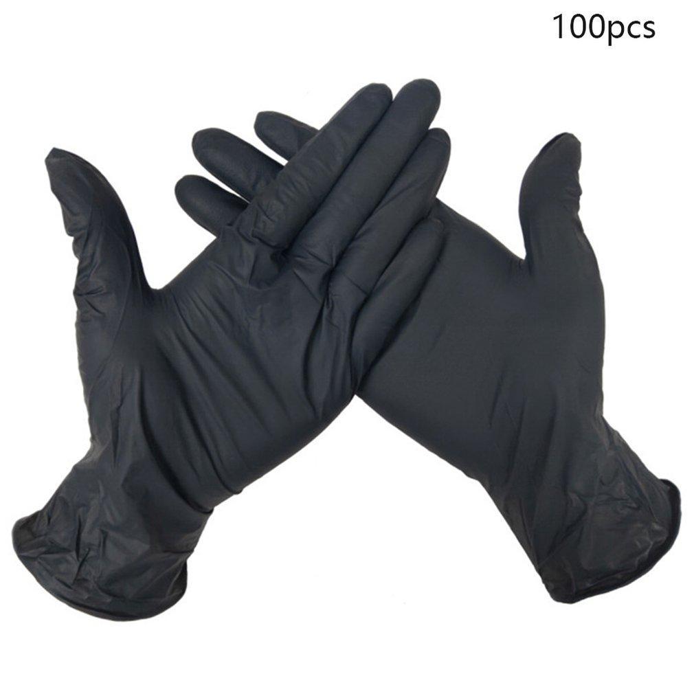 Оптовые перчатки Износостойкость нитрил одноразовые перчатки Тестирование продуктов питания Бытовая химия Стиральные Антистатические перчатки из нитрила Быстрая доставка