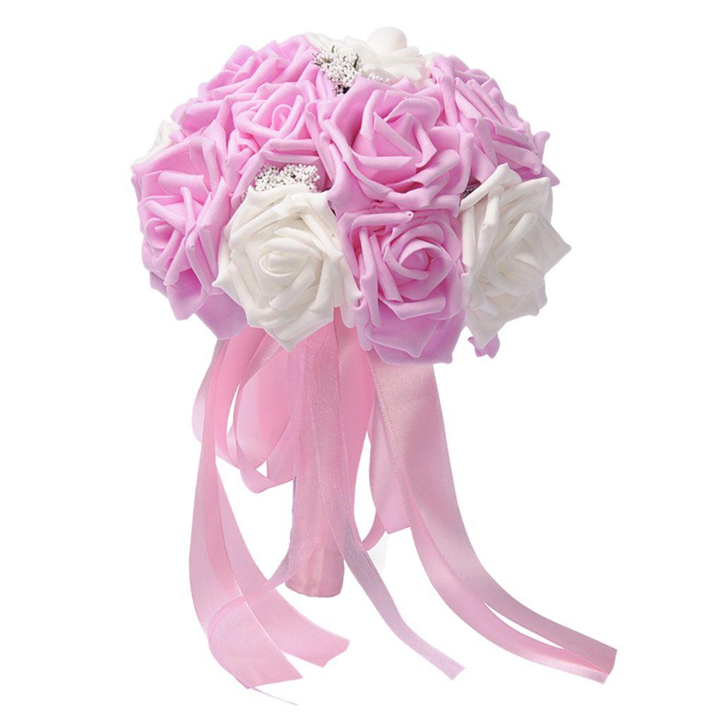 Nupcial Rosas Wedding Flower Bouquet Casamento Decoração Venue