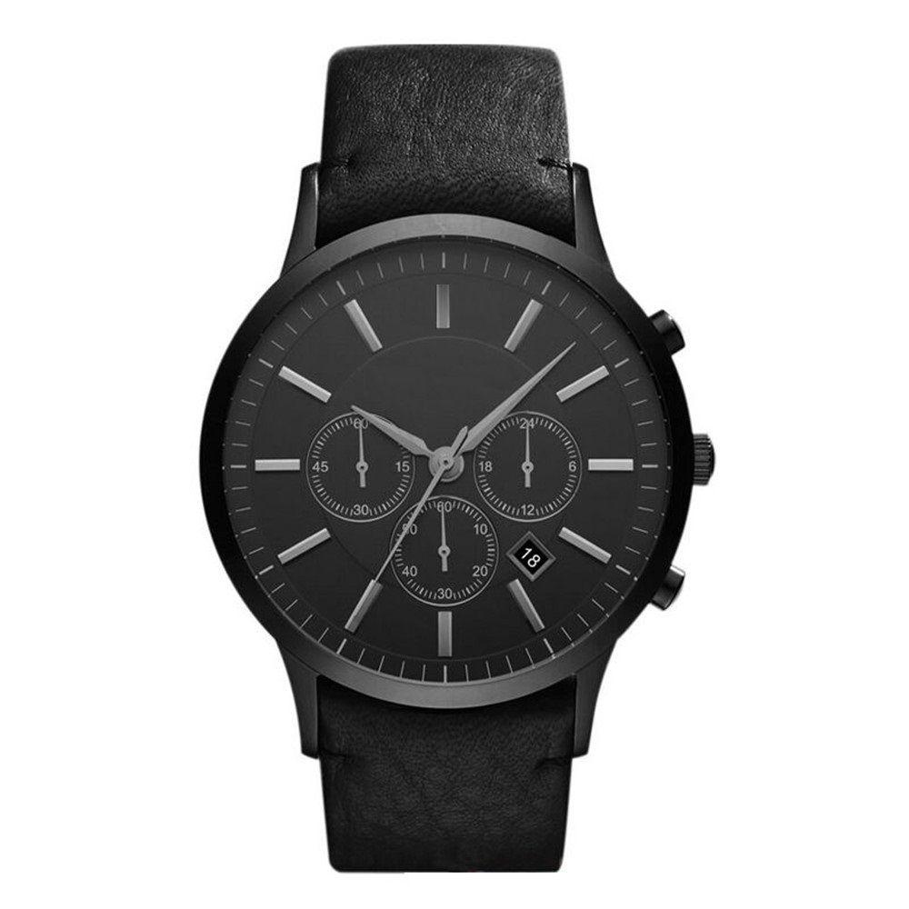 Klasik moda erkek saatler ar2461 kuvars saatler yüksek kalite ücretsiz kargo