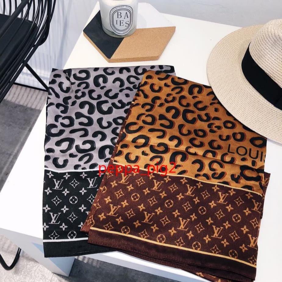 Été 100% Foulard en soie chic et des femmes de haute qualité design crème solaire lettre pleine taille longues Echarpes mince 180x90cm de A150