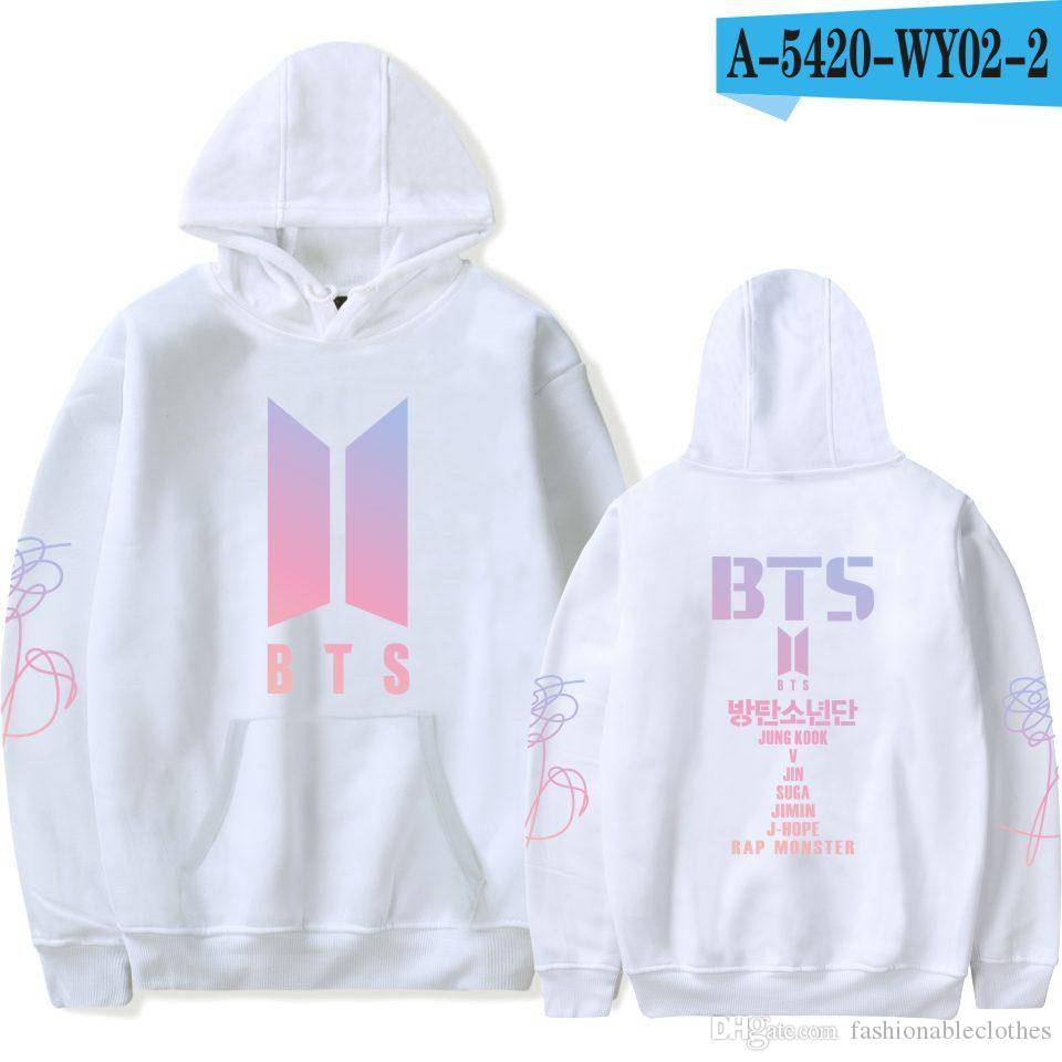 2019BTS Bulletproof Youth League New Album Love Yourself New Leisure Furring Should Aid Couple Hat Guard Clothes