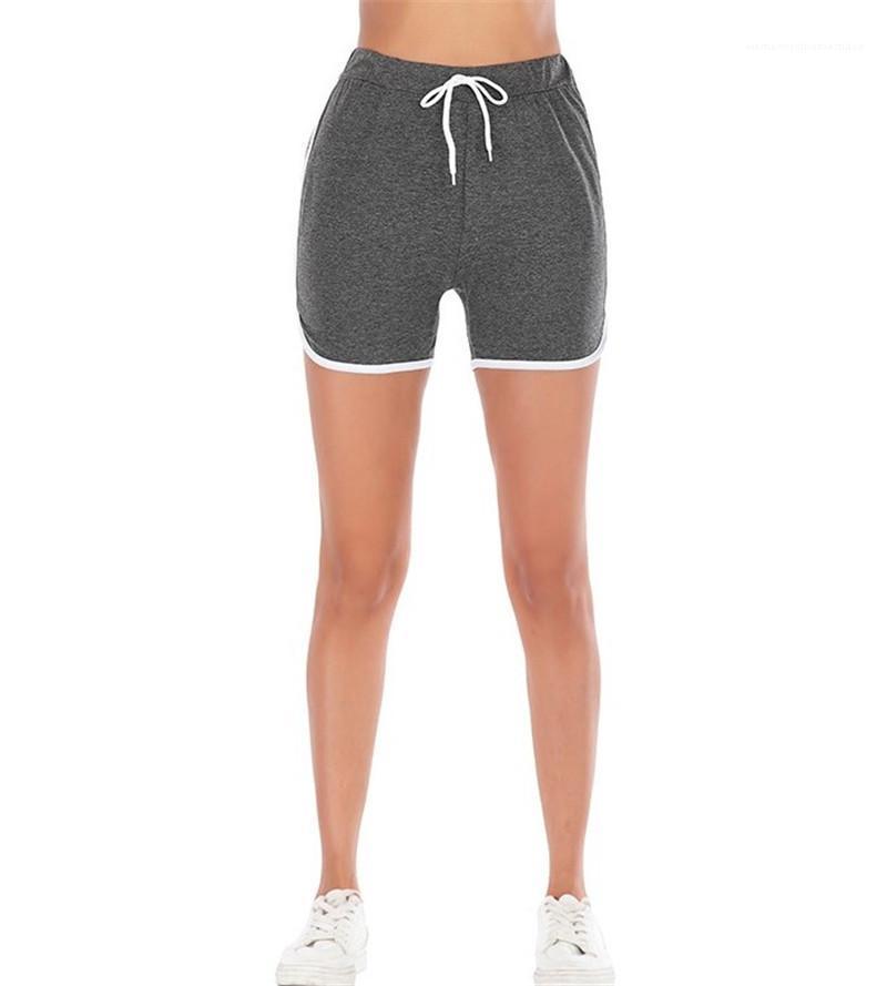 Шорты женские лето Фитнесс шорты брюки Брюки женские Relaexed Модельеры Короткие брюки 2020 Повседневный Спорт